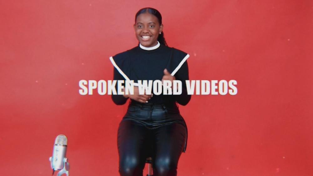 Words of Faith Spoken Word videos