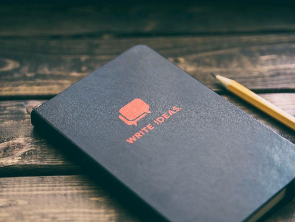 Write Ideas notebook