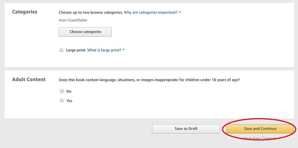 Amazon KDP screenshot 6