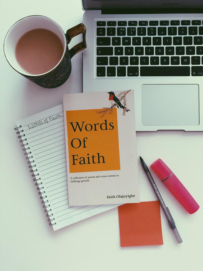 Words of Faith Macbook Set Up