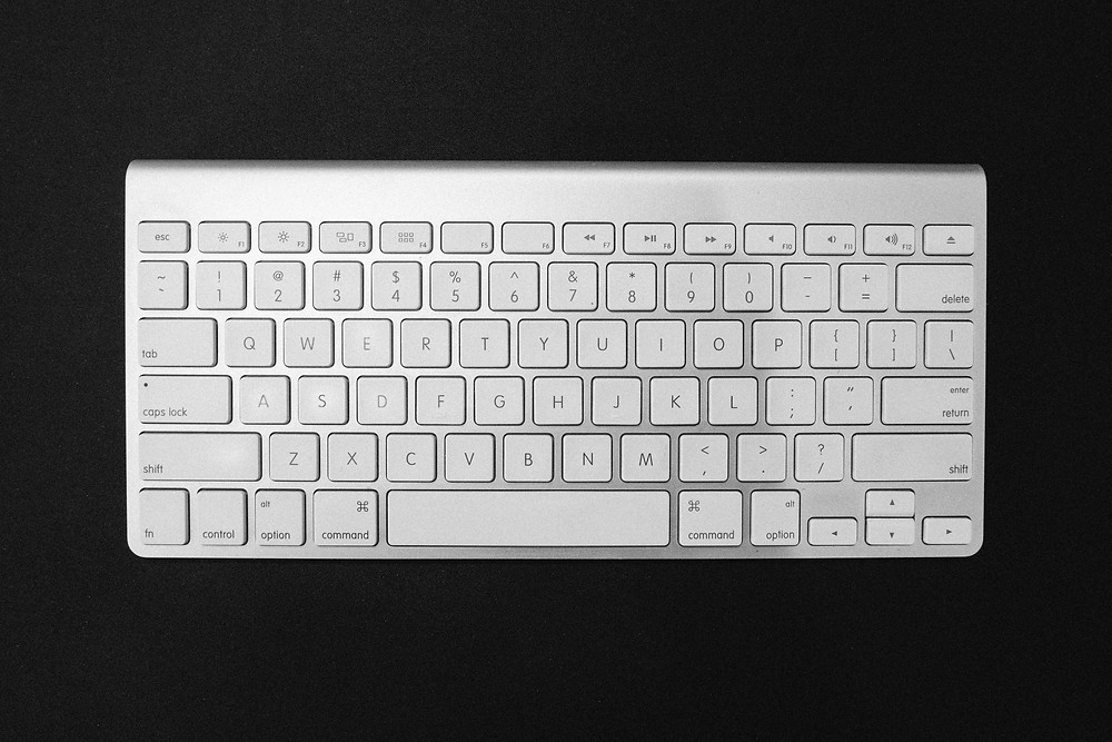 Apple keyboard to write with