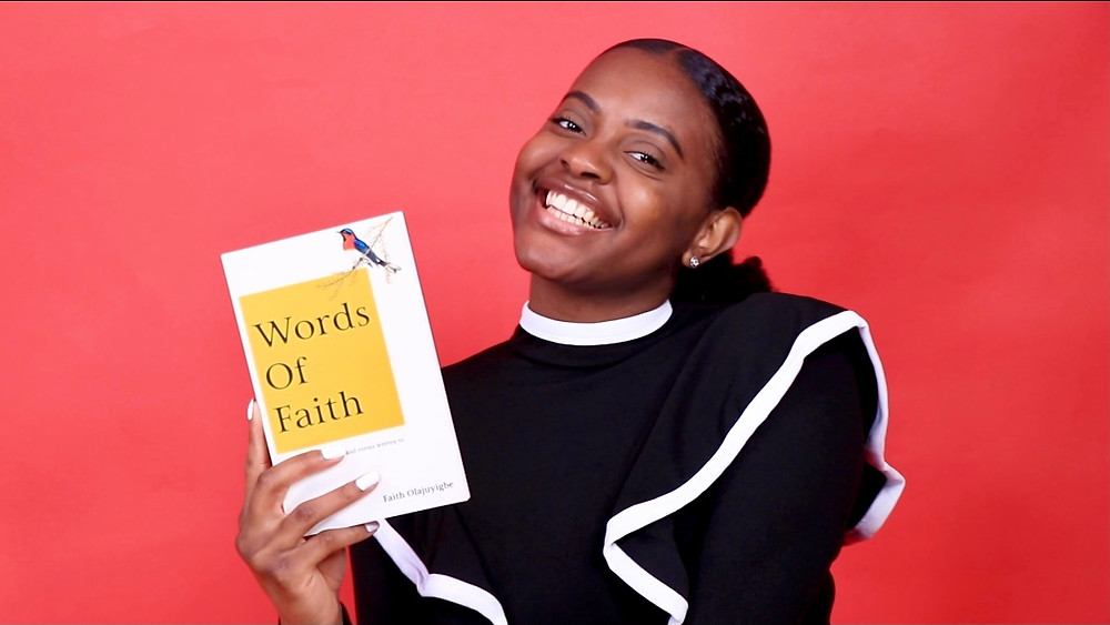 Words of Faith poetry book video