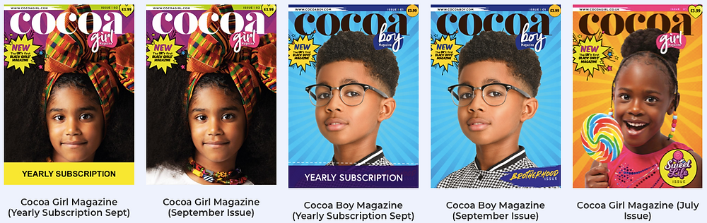 Cocoa girl magazine