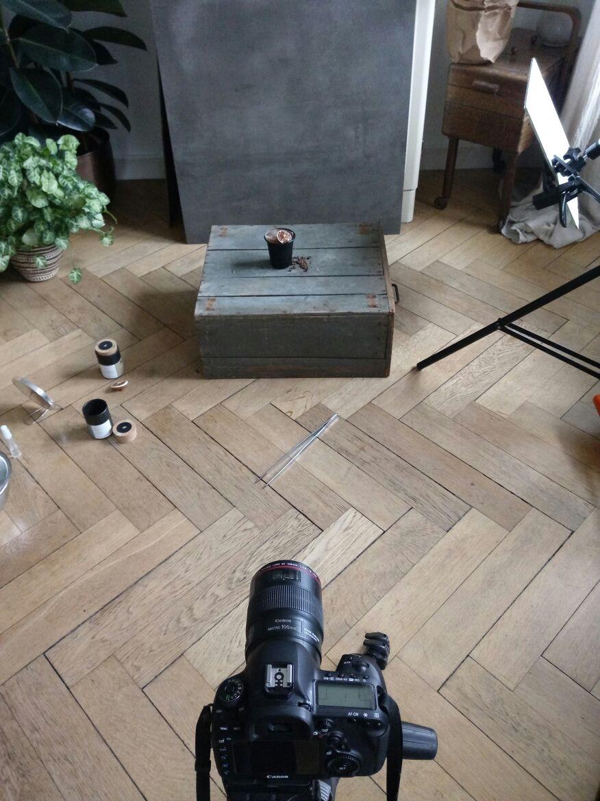 Fotoshooting Kraut|Kopf