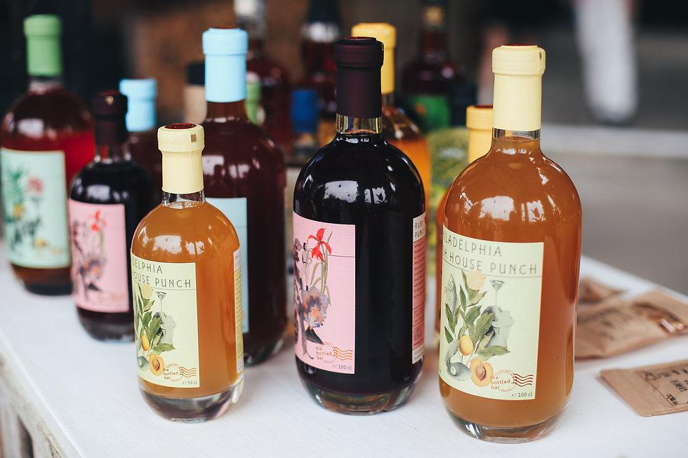 the bottled bar_Bottled Cocktails_Barthur Barcatering
