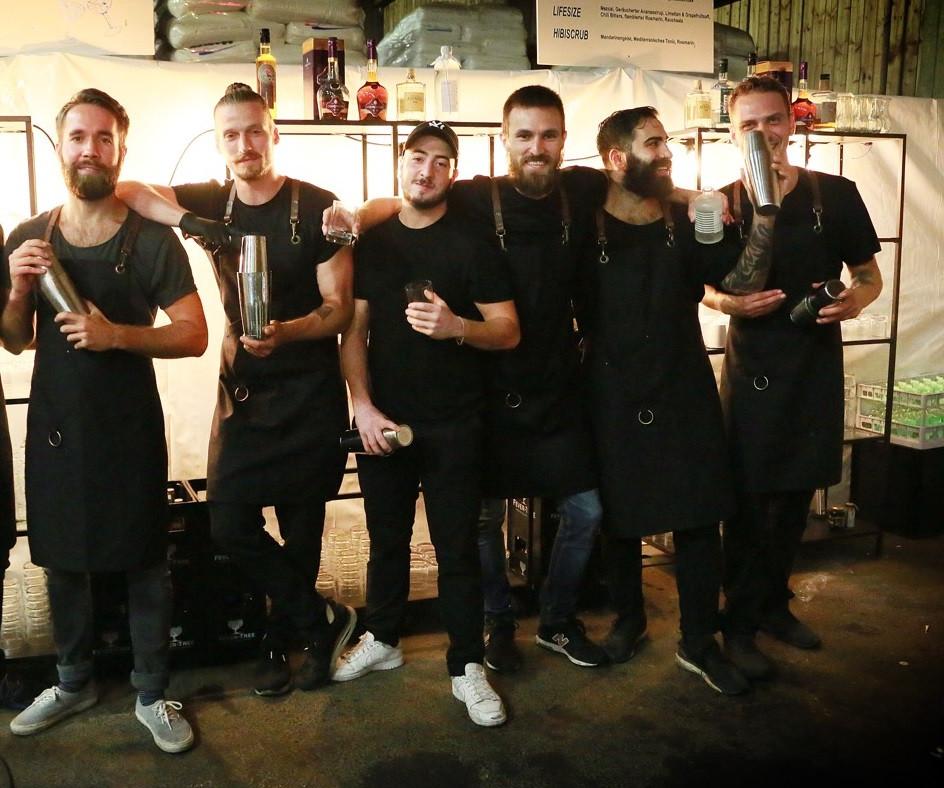 Barthurs Crew beim Sommerfest von Kocherplastik / HOLOPACK