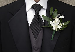 Made-to-measure wedding suit