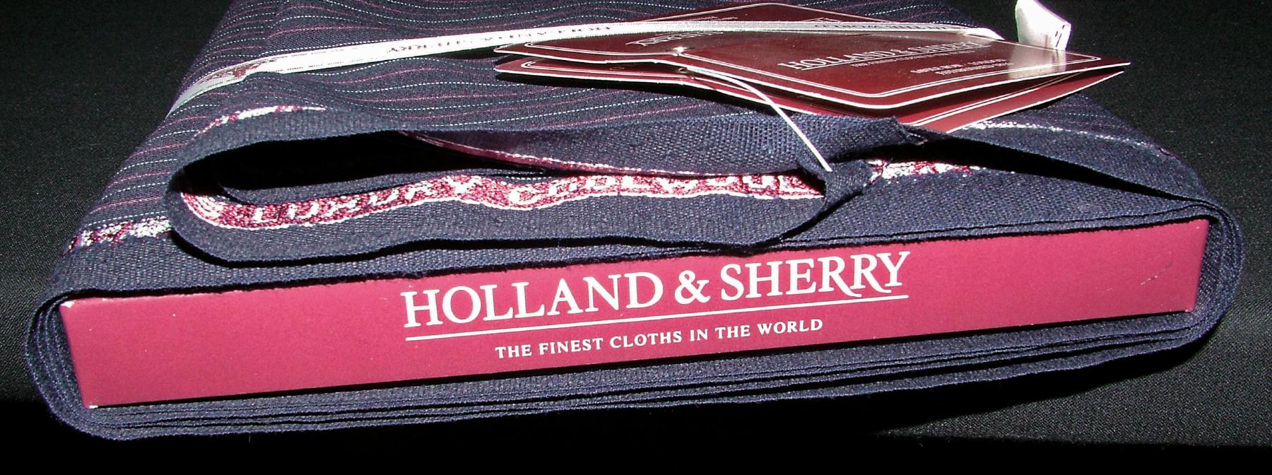 Holland & Sherry fabrics