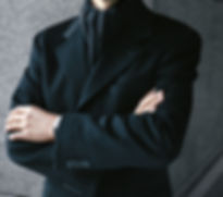 Men's winter overcoat