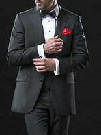 Made to measure evening wear