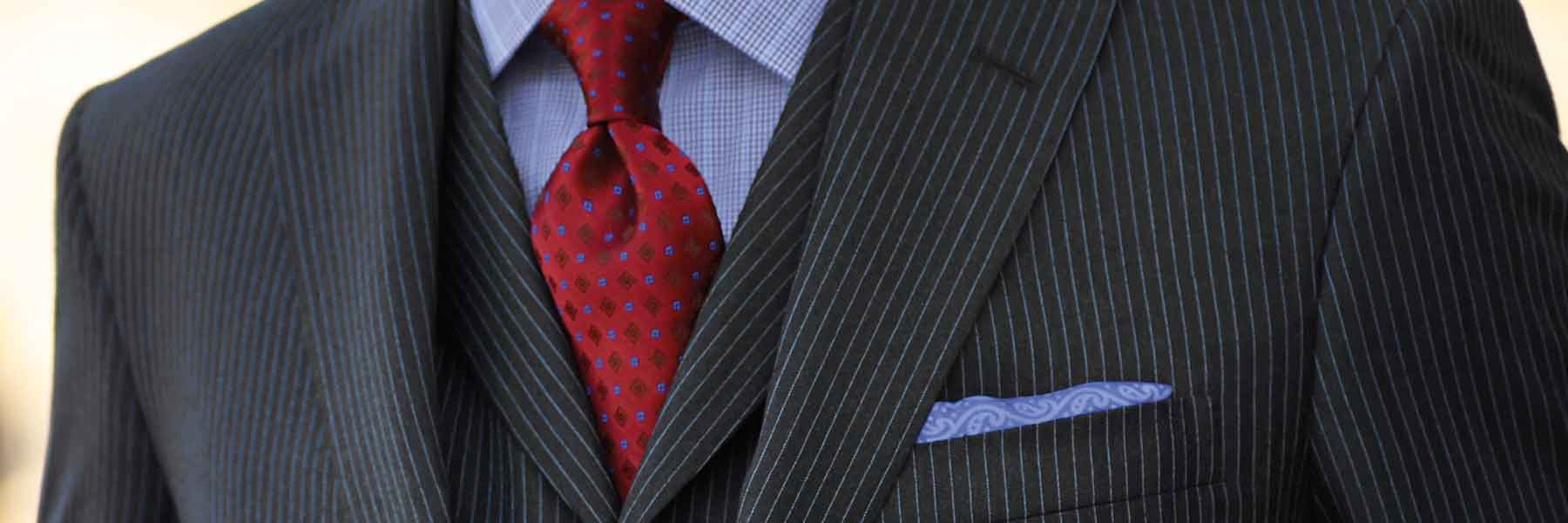 Made-to-measure suits for men