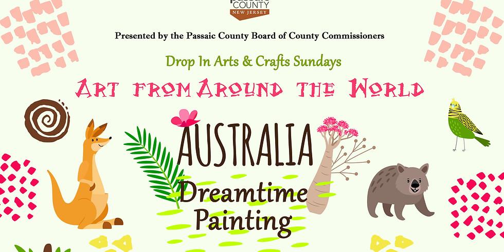 Drop-in Craft Sundays: Art From Around the World: AUSTRALIA