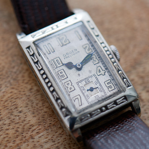 1928 Gruen Precision Wristwatch