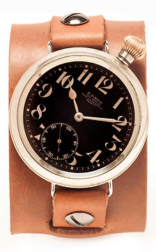 """Death From Above"" 1915 Non Luminous Mark V Pilots Watch"