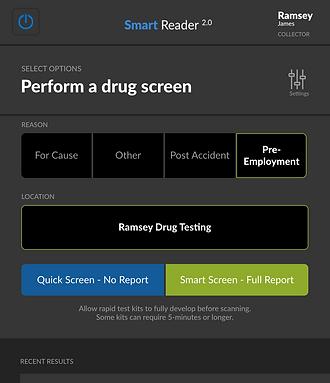SmartReader home page 2