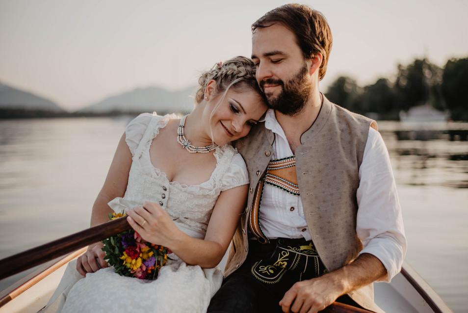 Veronika & Christoph - Elopement am Chiemsee