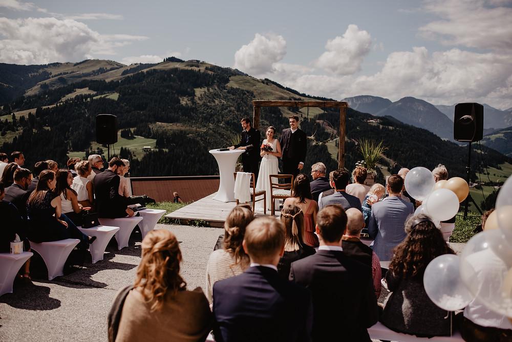 Heiraten Berge Tirol Hochzeit