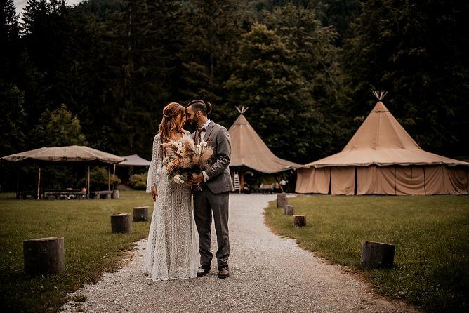 Hochzeitsfotograf Blueland Tipi Ohlstadt