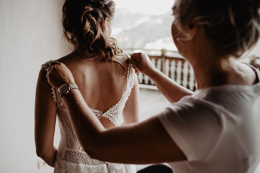 Getting Ready Hochzeitsfotografie