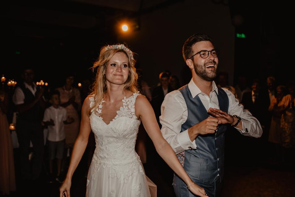 Sandra & Flo – Urbane Hochzeit in der alten Spinnerei