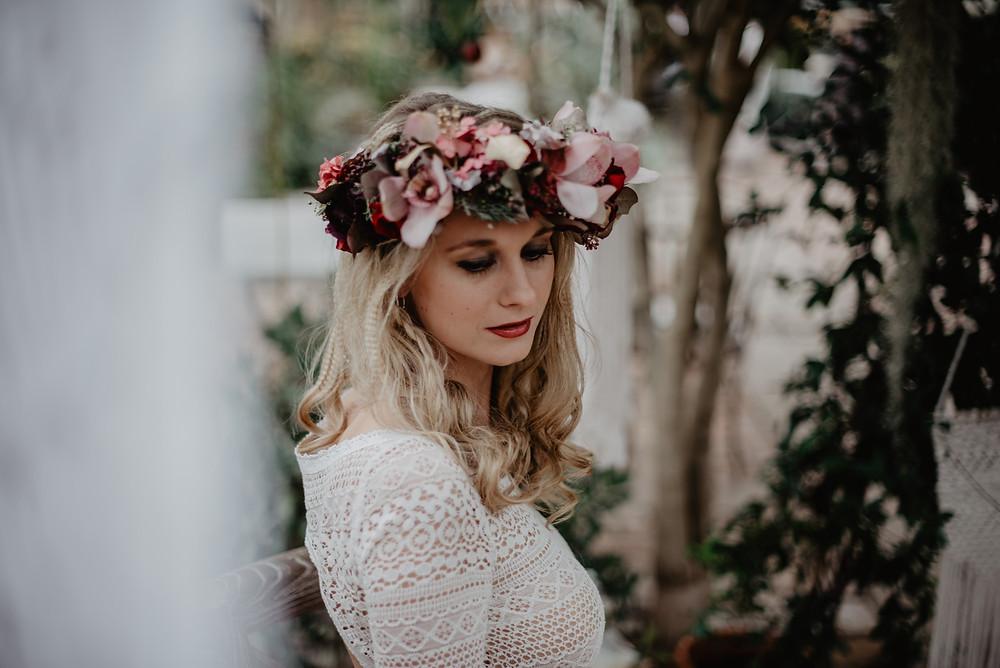 Boho Hochzeit Braut
