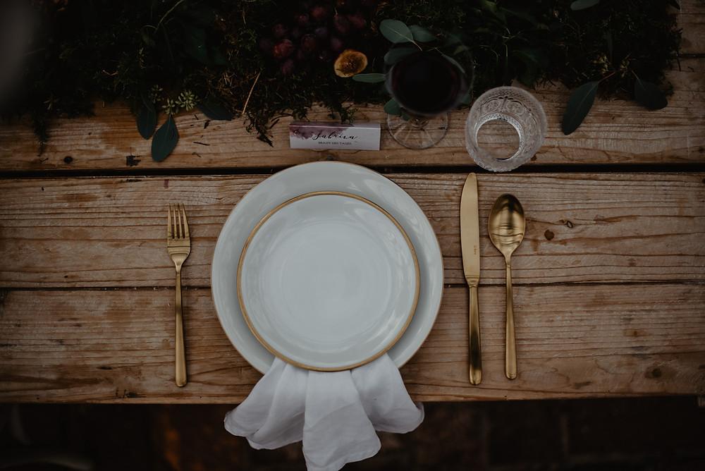 Boho Hochzeit Tisch