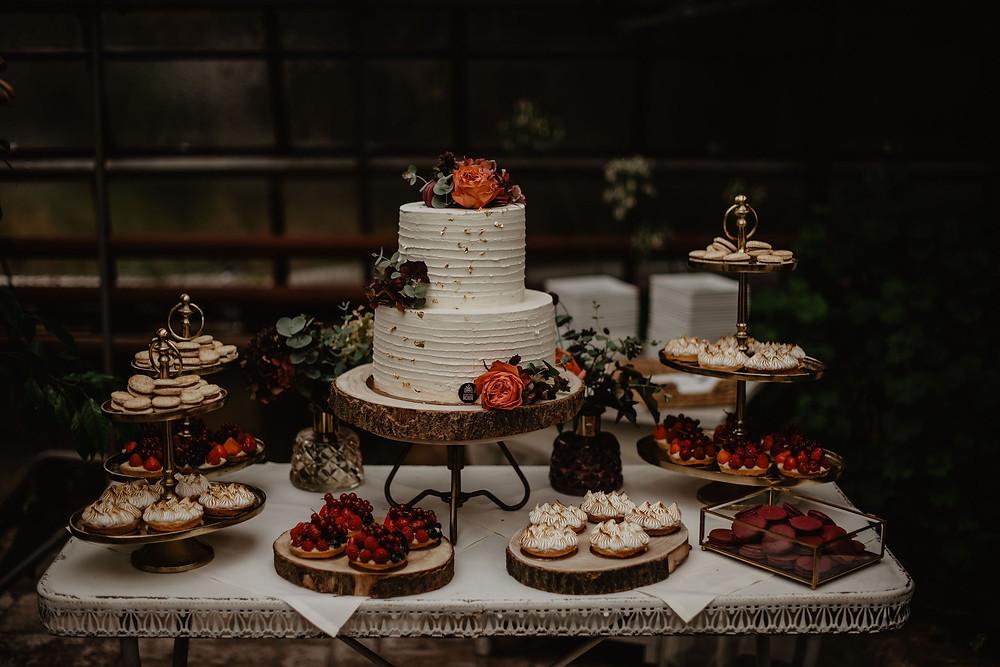 Hochzeitstorte München Macarons