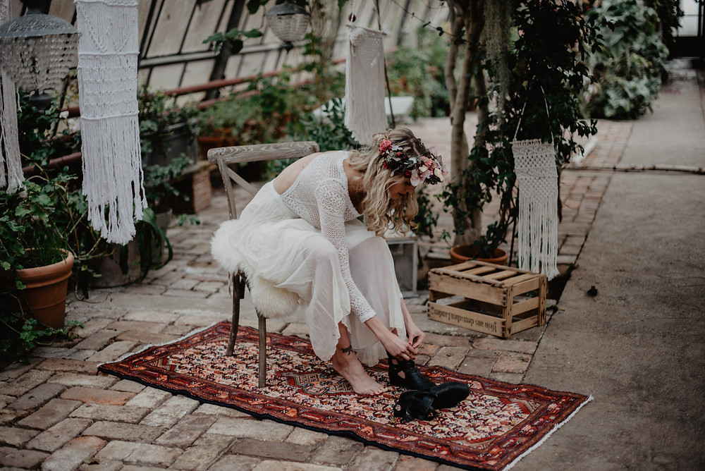 Boho Hochzeit Styling