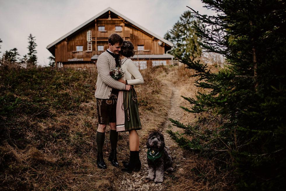 Hochzeitsfotograf Berghochzeit Almbad Huberspitz