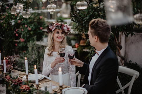 Alte Gärtnerei Taufkirchen Bohohochzeit Hochzeitsfotograf Rosenheim München
