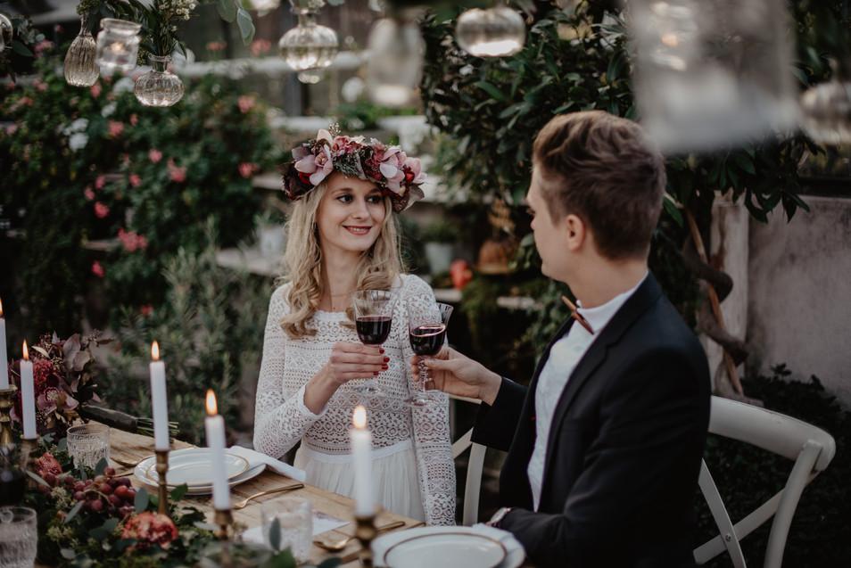 Alina & Flo - Boho-Hochzeit in der Alten Gärtnerei