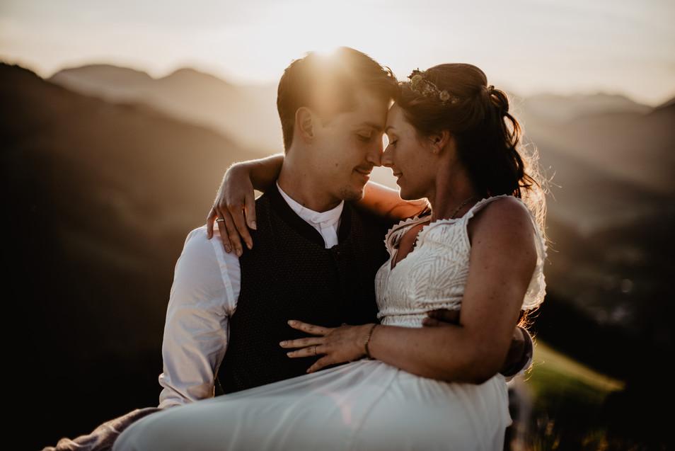 Lisa & Philipp – Hochzeit in den Bergen auf der Brenneralm