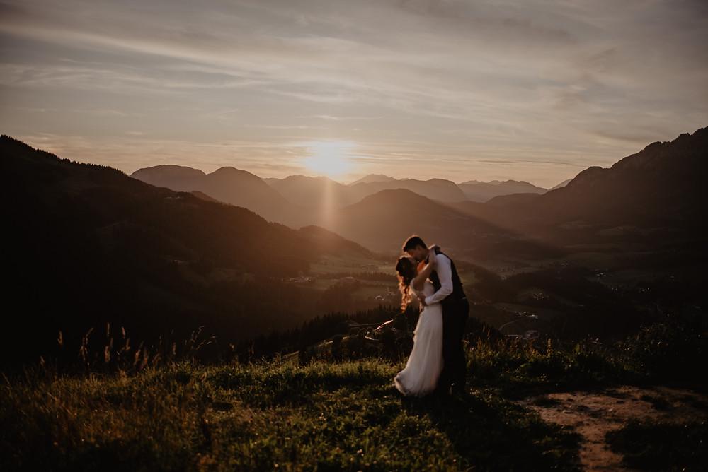 Hochzeit Berge Fotograf Location