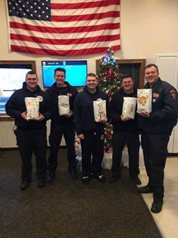 Packages 4Patriots - 2018: Whitestown Firefighters