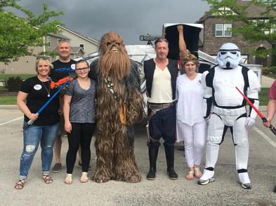 Paws 4PTSD - 2018:  Star Wars Fundraiser