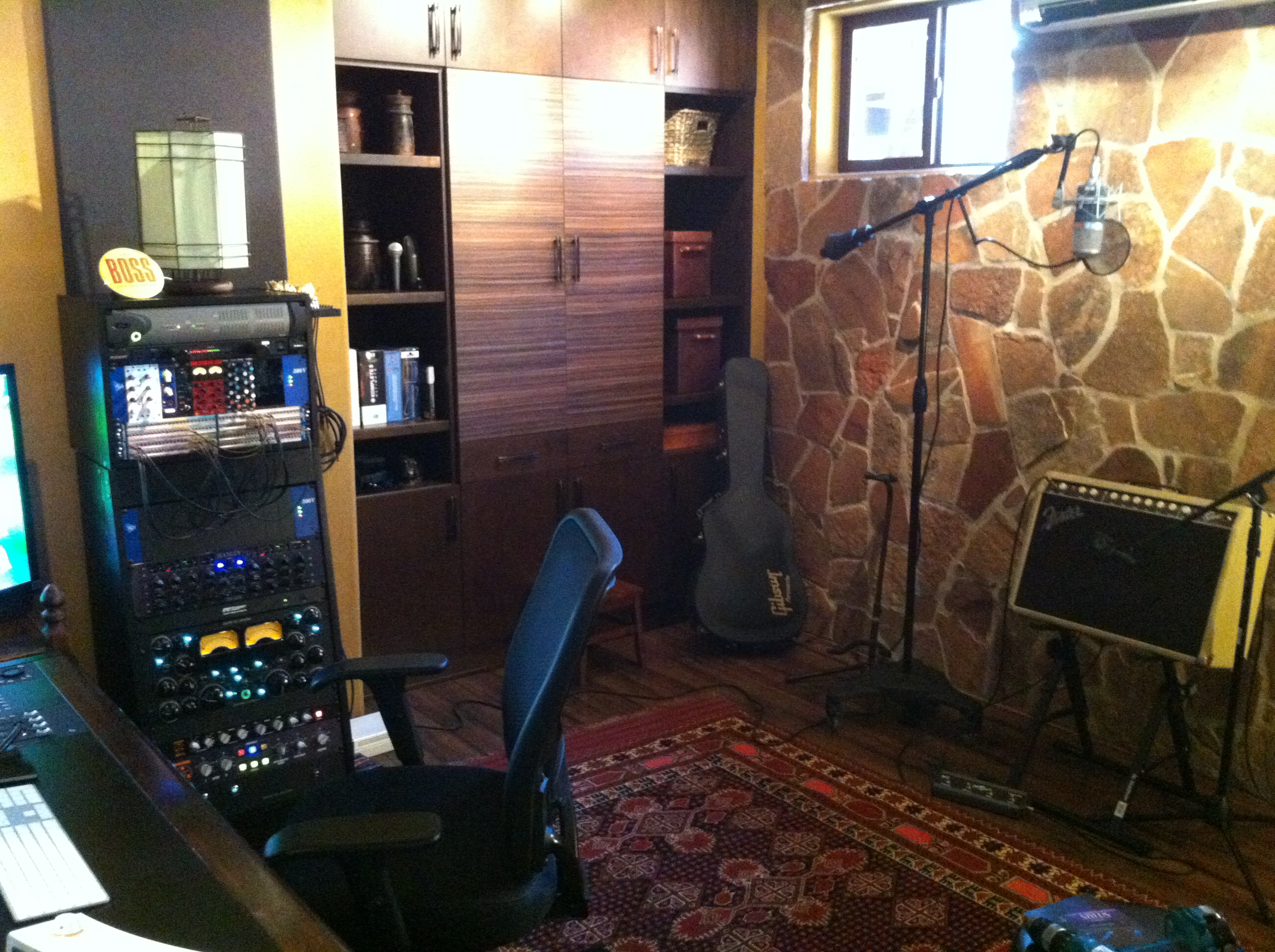 Zeph Daniels - Home Studio