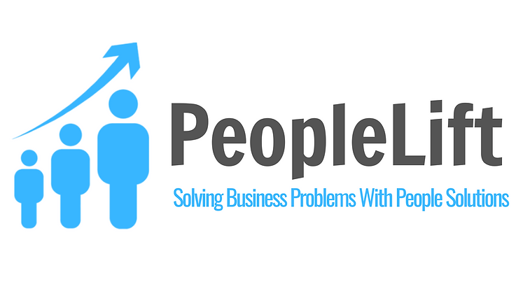 PeopleLift Logo White Background Higher