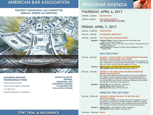 Attorney Rabih Hamawi to speak at the 2017 Spring meeting for the American Bar Association