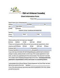 Child - Adolescent General Consent Form.
