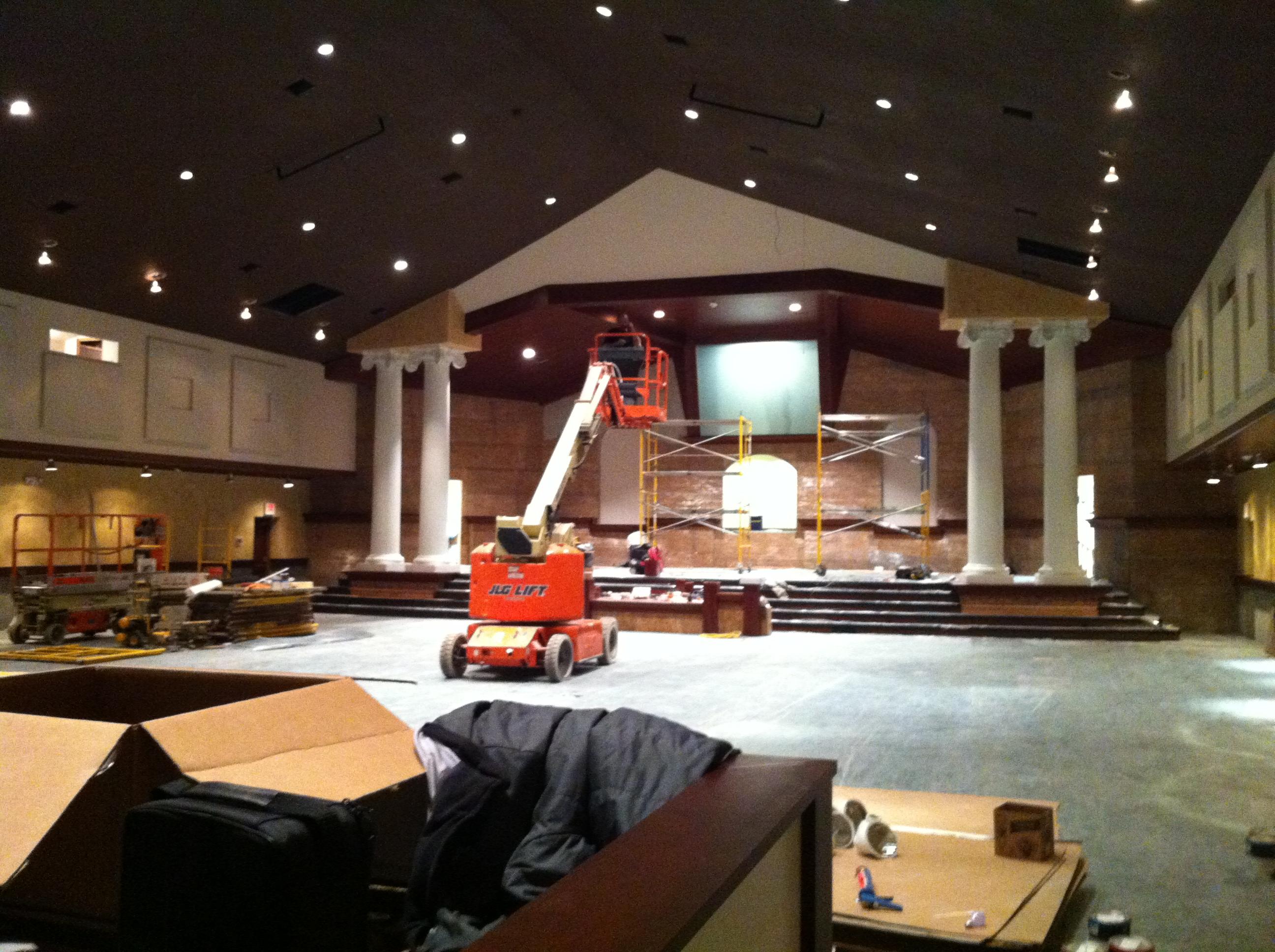 Oasis Tabernacle, Church Studio