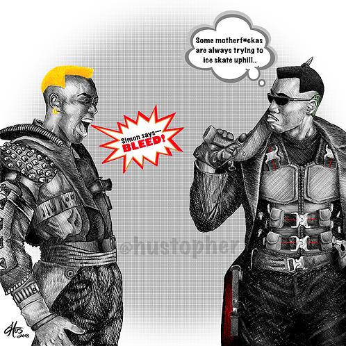 Simon vs. Blade