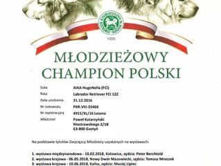 AIKA Młodzieżowym Championem Polski!