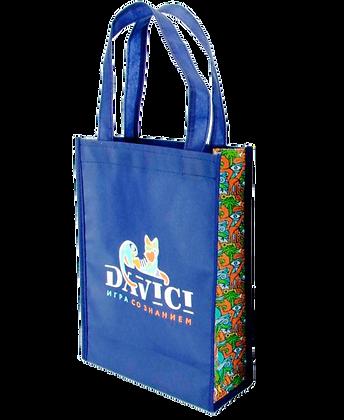 Фирменная сумка-шоппер (цветная)