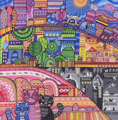 Город котиков