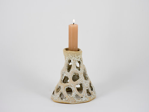 Small Candleholder white (single)