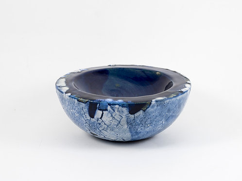 Double wall medium Bowl Blue