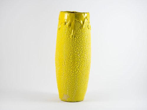 Yellow Disaster Vase Large