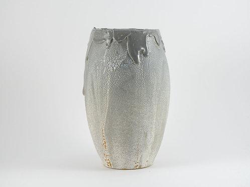 Gray Disaster Vase Large
