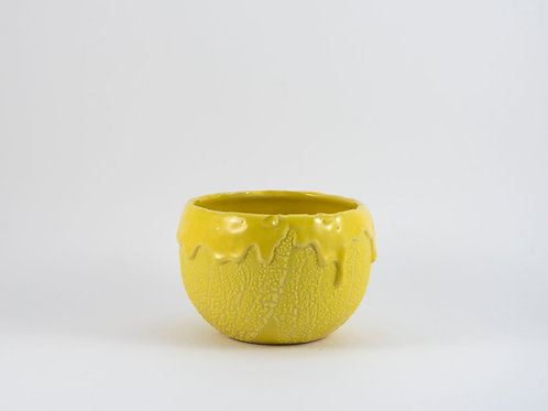 Yellow Disaster Round Bowl Small