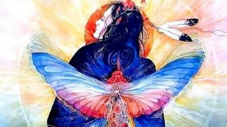 La roue médecine de la Femme Sacrée